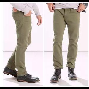 Levi's 511 Slim Fit Men's Commuter Jeans-Dark Sand